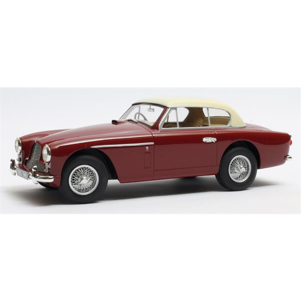 Aston Martin DB2-4 MKII FHC Notchbach Red /Beige 1955