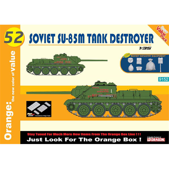 Soviet 85M tank destroyer + equipment