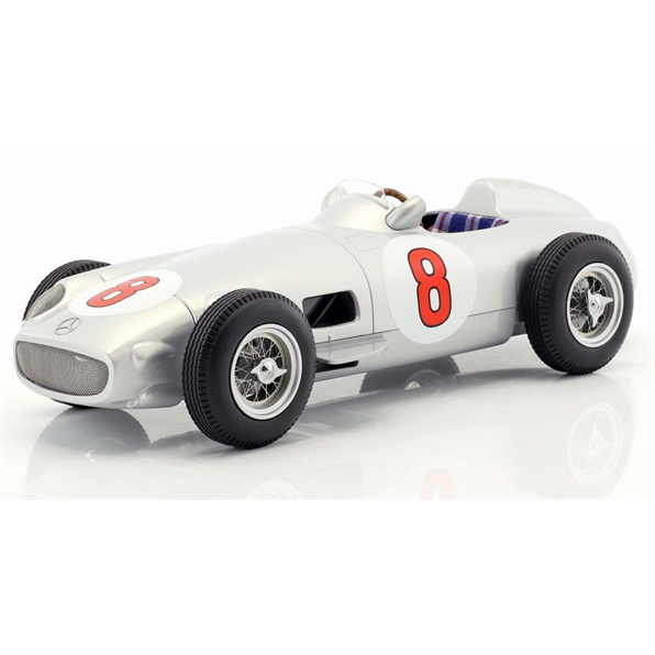 Mercedes W196 F1 - Juan Manuel Fangio #8 GP Netherlands Winner - World champion F1