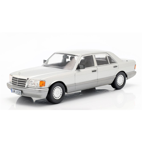 Mercedes Benz 560 SEL S Class (W126) 1985 Astral Silver/Grey