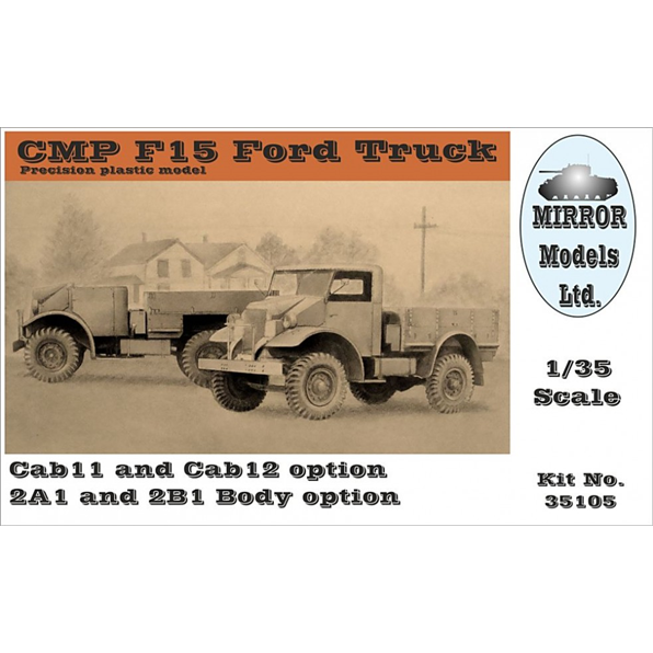 CMP F15 Ford Truck 4x2 (2 cab and body optio