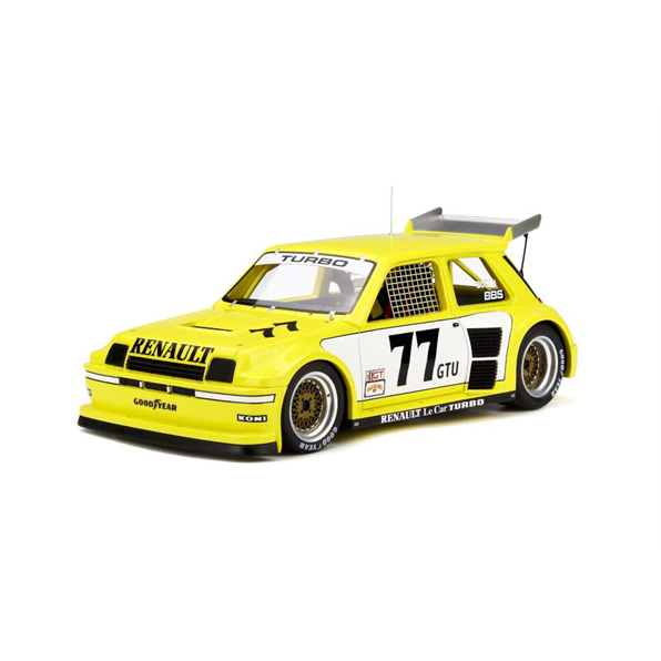 Renault Le Car Turbo ISMA yellow