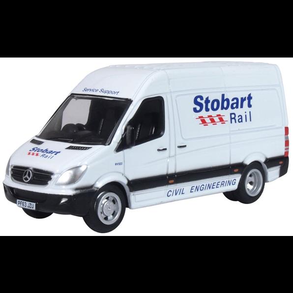 Mercedes Sprinter Van Stobart Rail