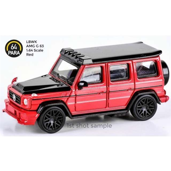2018 Liberty Walk AMG G63, red