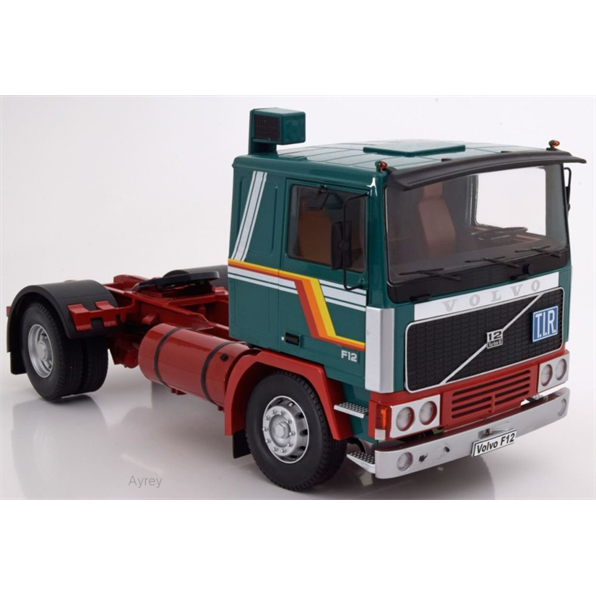 Volvo F12, green/white