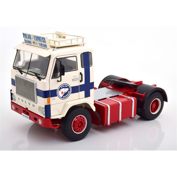 Volvo F88 Polar Express 1965 White/Blue/ Red (Limited Edition 700 pcs)