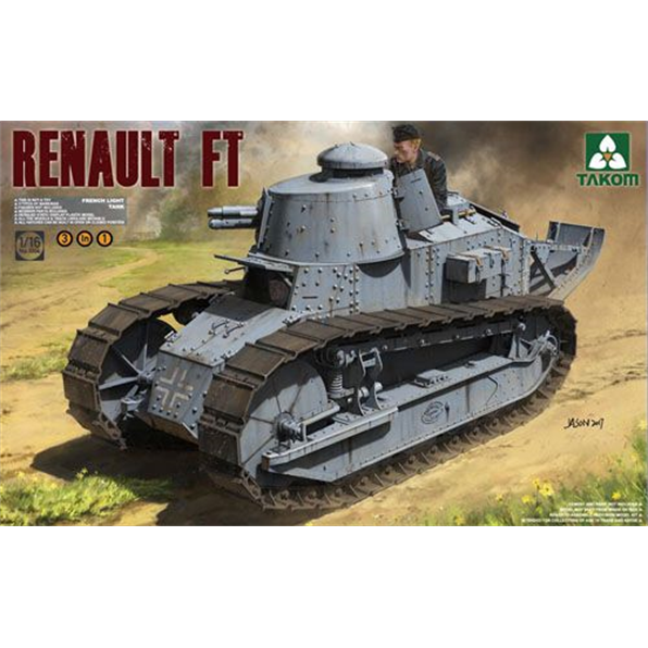 Renault FT French Light Tank 3 in 1