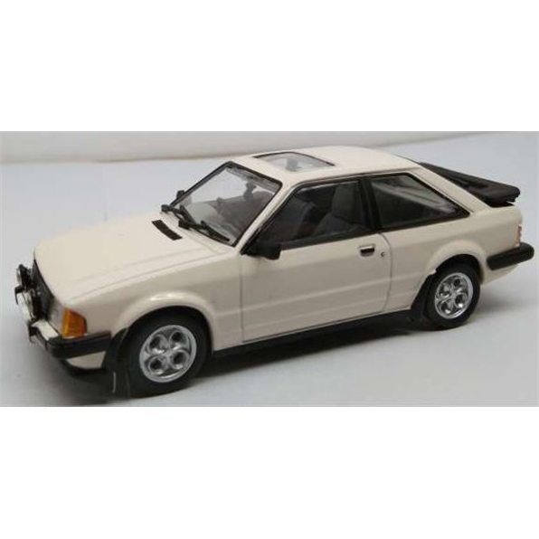 Ford Escort MkIII XR3i Diamond White 1983 RHD