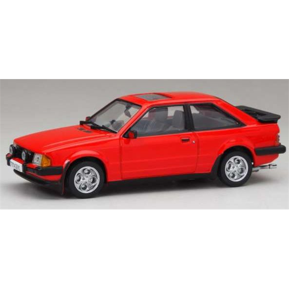 Ford Escort MkIII XR3i RHD Sunburst Red 1983